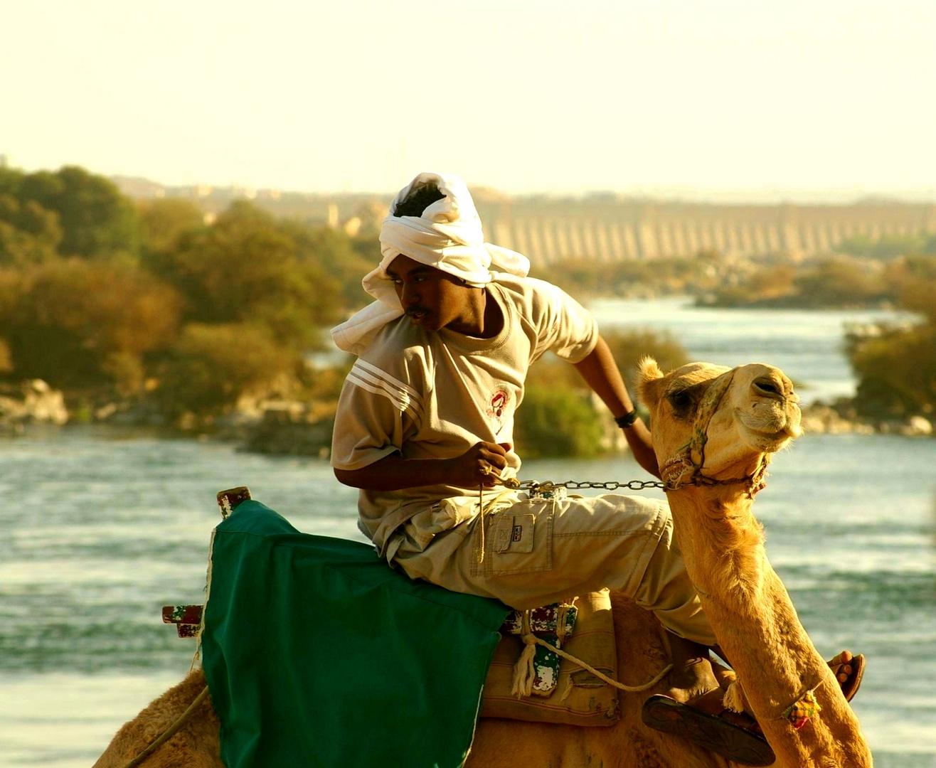 Hacia el poblado Nubio