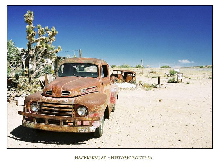 Hackberry, AZ.- Historic Route 66
