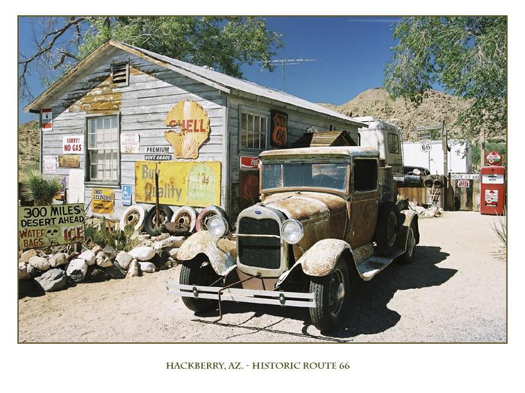 Hackberry, AZ. - Historic Route 66 (II)