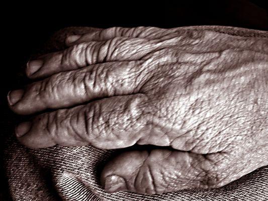 Hände die vom Leben erzählen