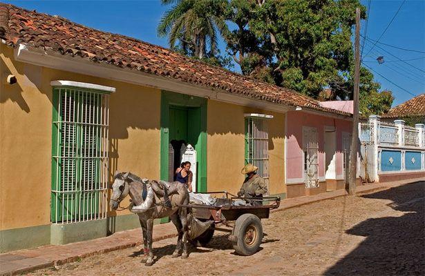 Händler in Trinidad