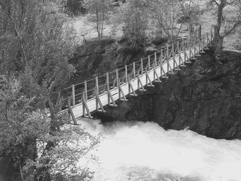 Hängebrücke #1