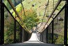 Hängebrücke am Sonneberg Naturns Italien