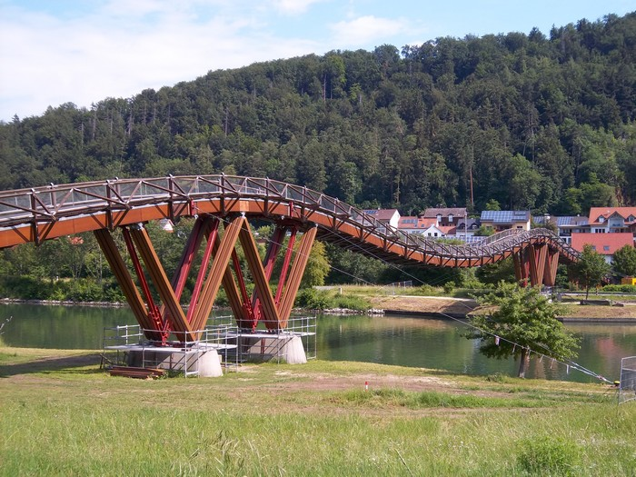 Hängebrücke in Essing