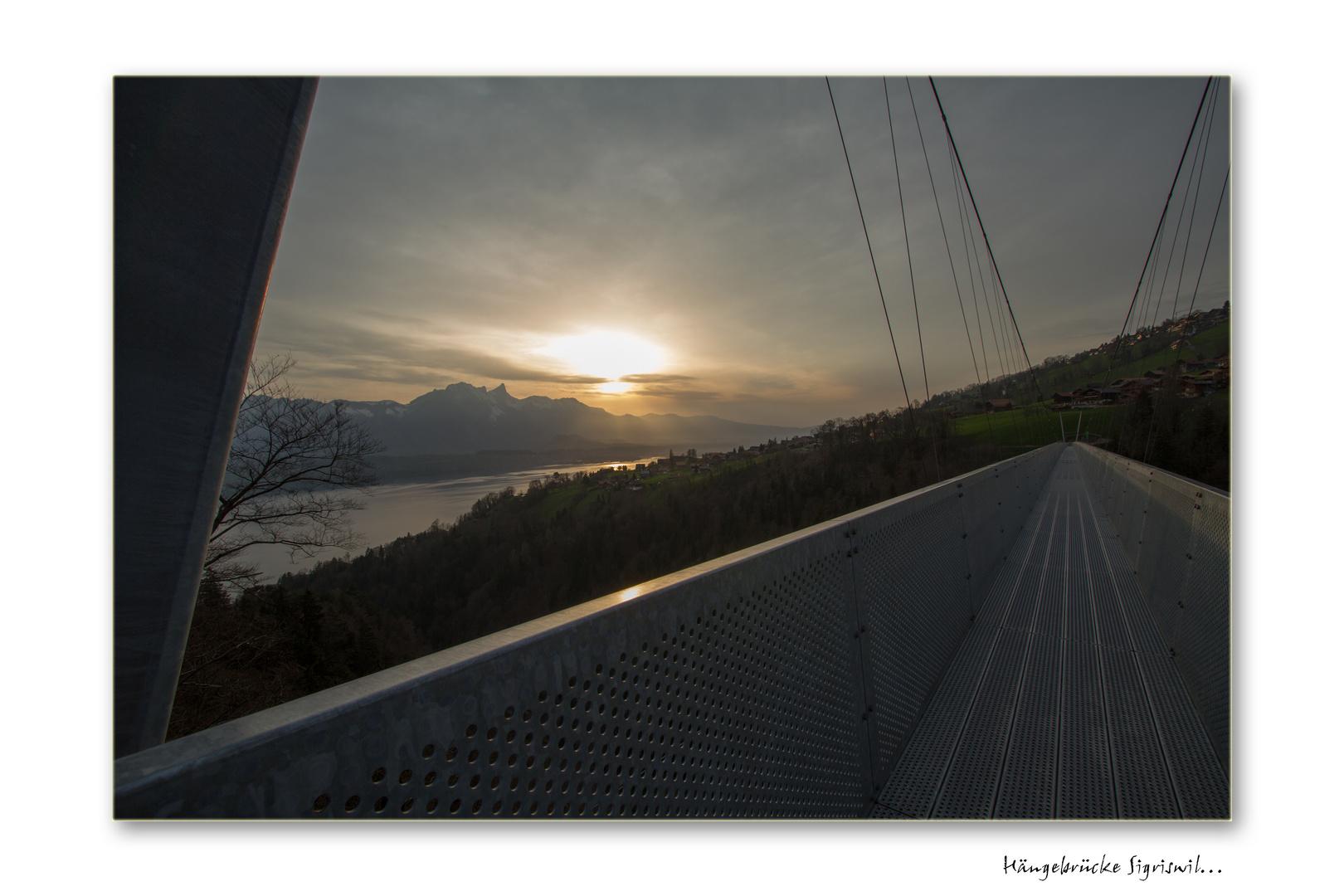 Hängebrücke Sigriswil...