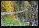 Hängeseilbrücke über die Salza, bei Palfau Steiermark