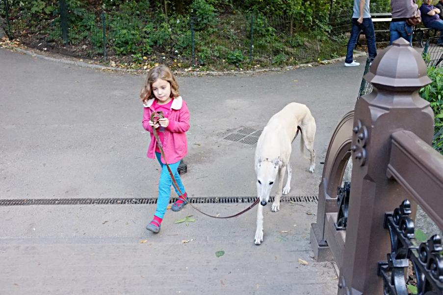 Haensel und Gretel verliefen sich im Central Park