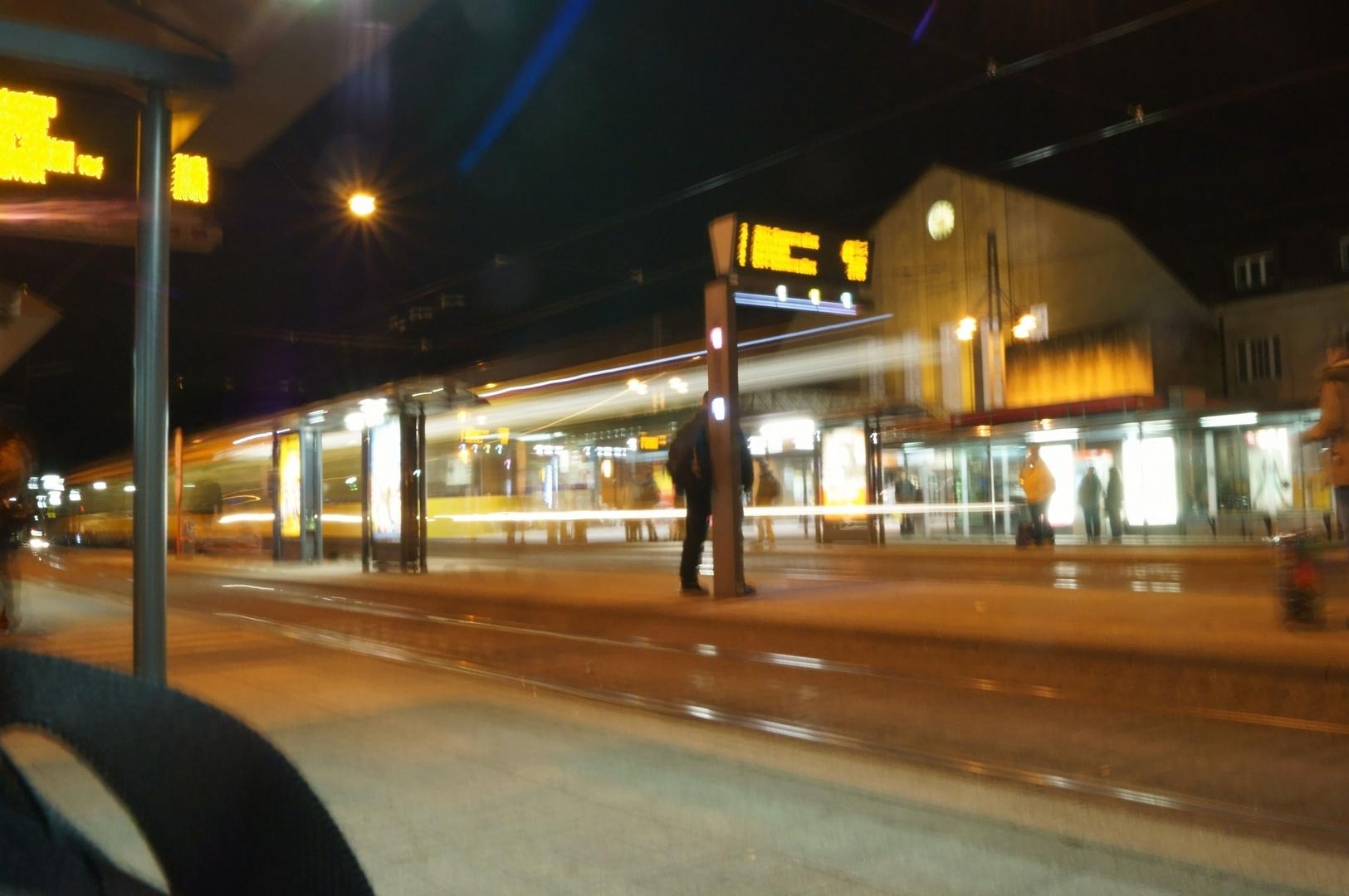 Haesslon-Bahn on the the way home