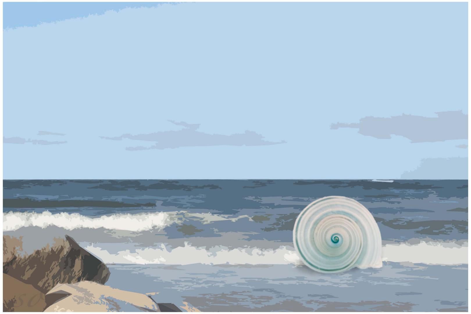 Häuschen am Meer
