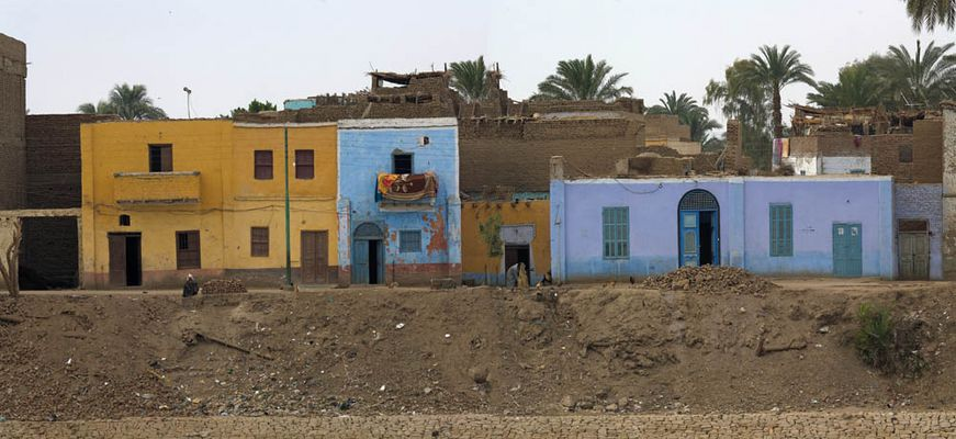 Häuser am Nil