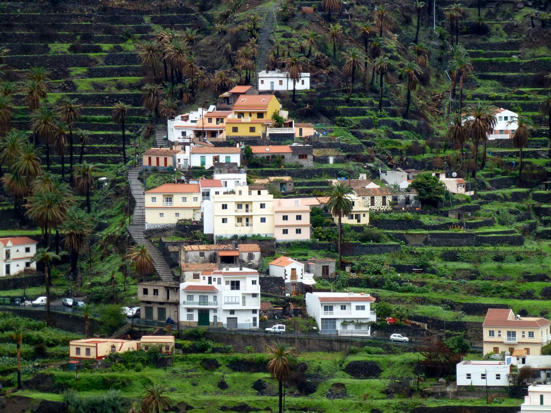 Häuser auf La Gomera