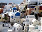 Häuser auf Santorin