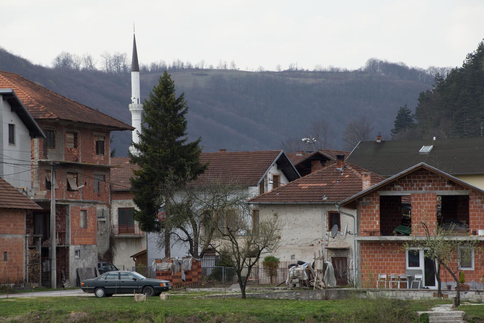 Häuser in der Stadt