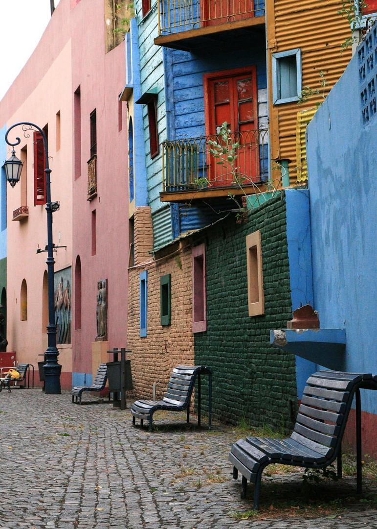 Häuser in La Boca ( Buenos Aires )