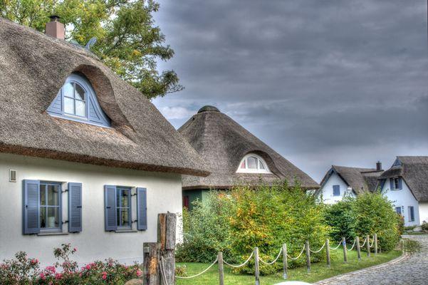 Häuser in Putgarten am Kap Arkona