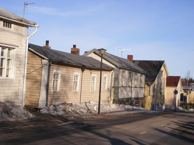 Häuser in Raahe