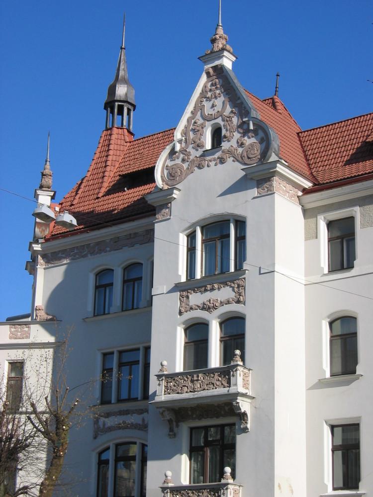 Häuser in Riga 4