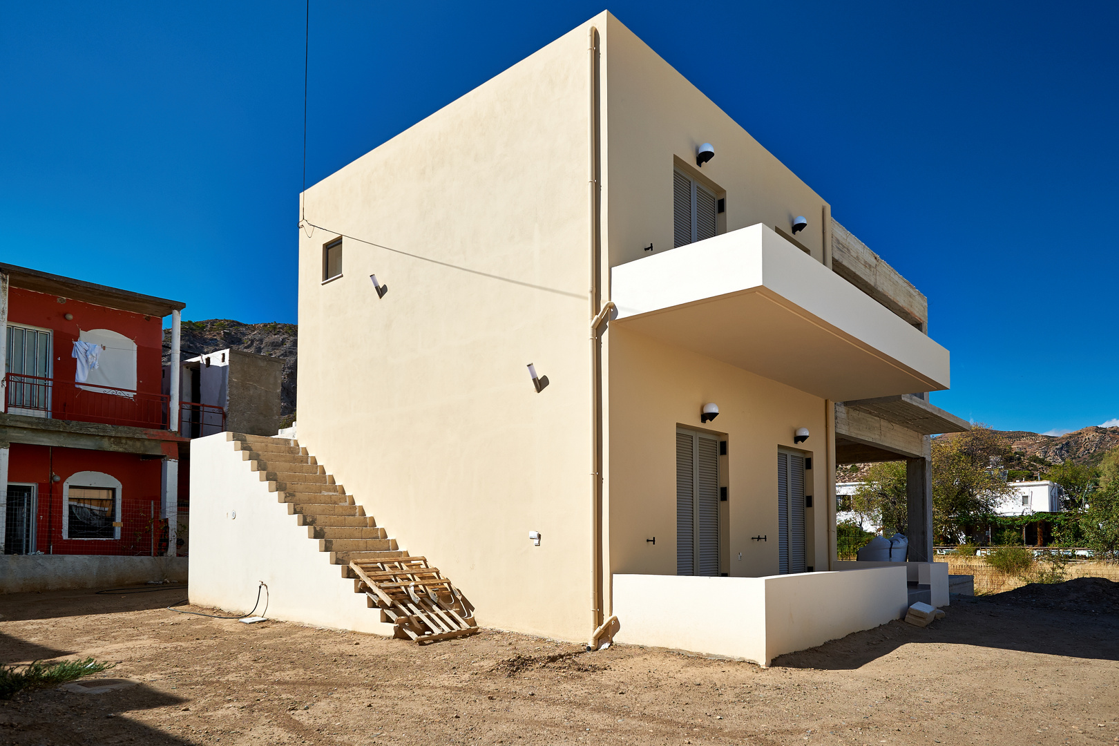 Häuser in Sougia {1}
