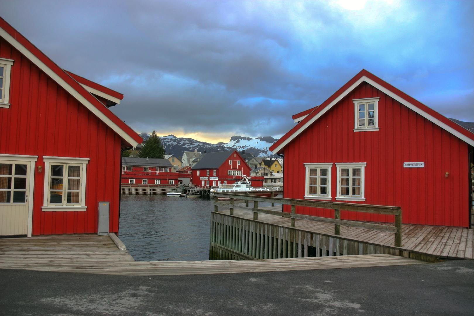 Häuser in Stamsund Lofoten
