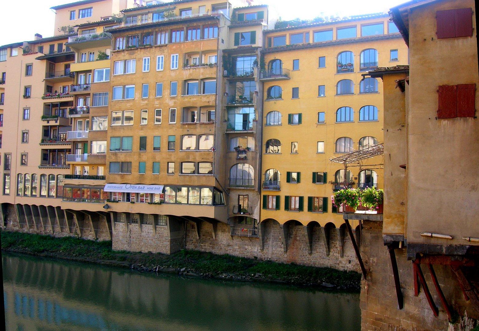 Häuseransicht in Florenz.