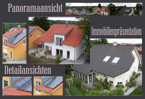 Häusercollage