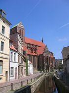 Häuserfassade in Wismar
