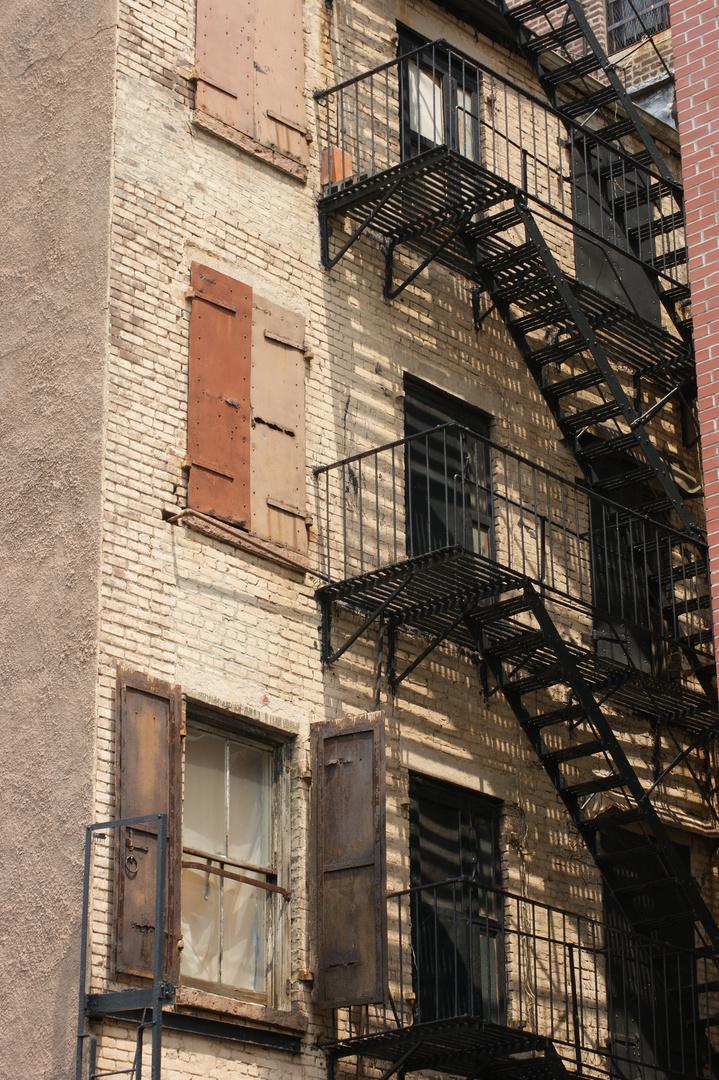 Häuserfassaden, New York City, Manhattan, SOHO I
