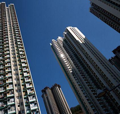Häuserflucht - Kowloon side