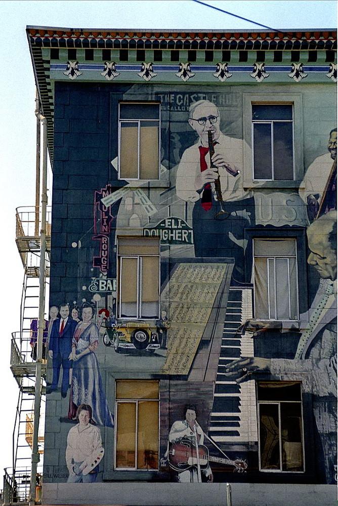 Häuserfornt in San Francisco