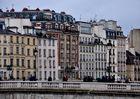Häuserfront am Seine-Ufer