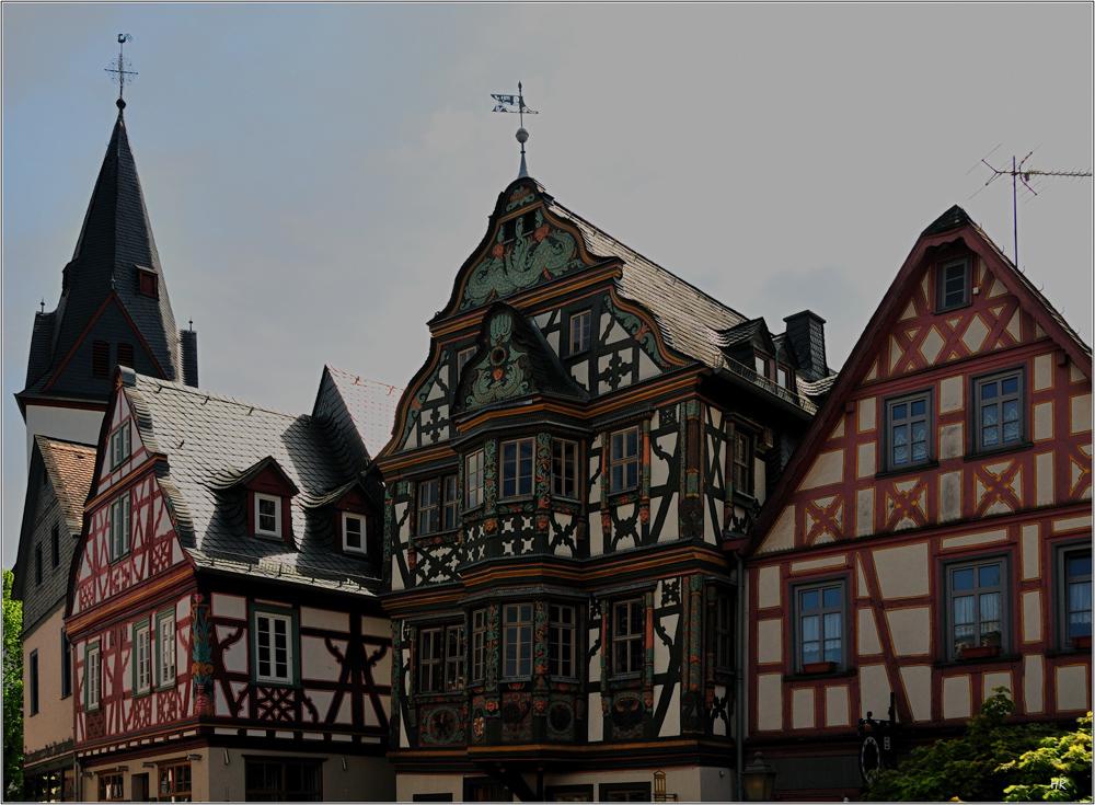 Häuserfront in Idstein