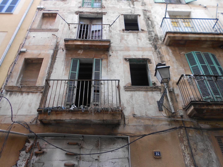 Häuserfront in Palma