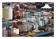 Häuserlandschaft in Berlin