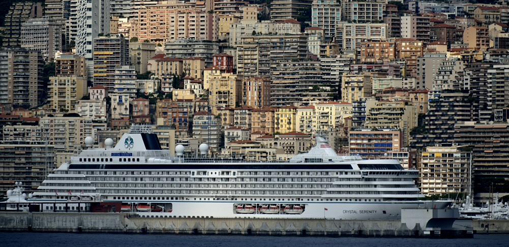 """Häusermeer am Mittelmeer Monte Carlo mit """"Crystal Serenity"""""""