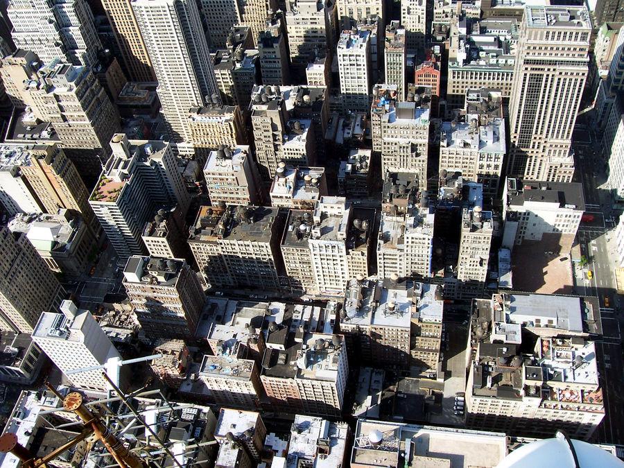 Häuserschlucht in Manhattan