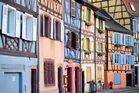 Häuserzeile in Colmar