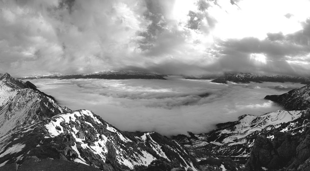 Hafelekar-Panorama