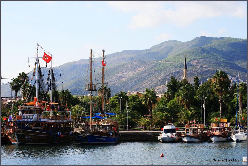 Hafen Alanya