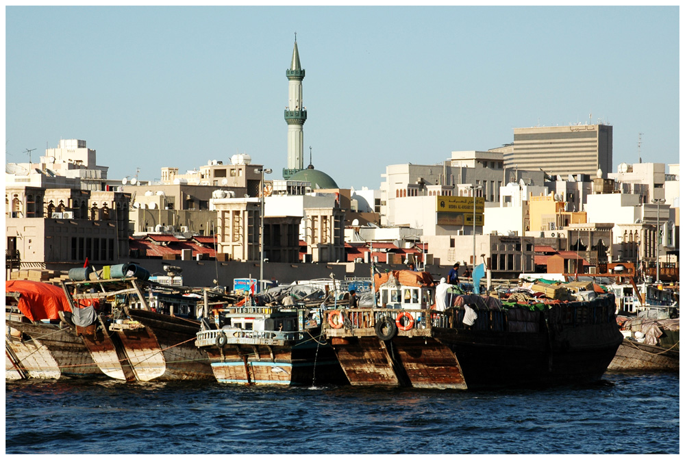 Hafen am Dubai Creek