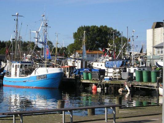 Hafen auf Fehmarn