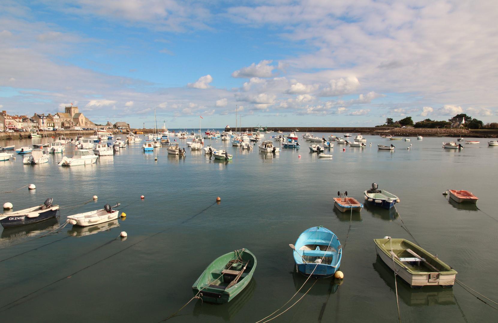 Hafen Barfleur Normandie