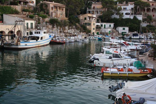 Hafen Cala Figuera Mallorca