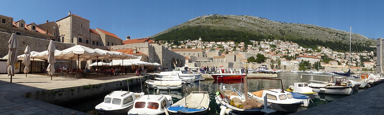 Hafen Dubrovnik