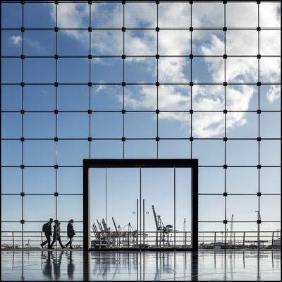 Hafen - Durch -Blick