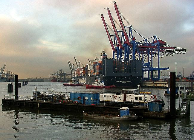 Hafen Hamburg - Burchardkai