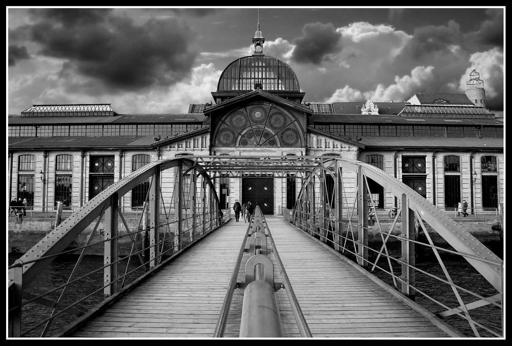 Hafen Hamburg B&W 1