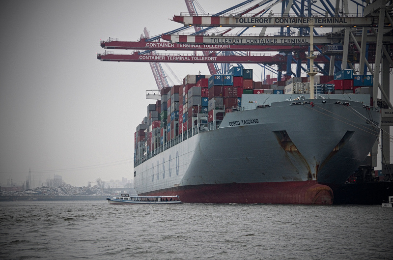Hafen Hamburg - Cosco Taicang