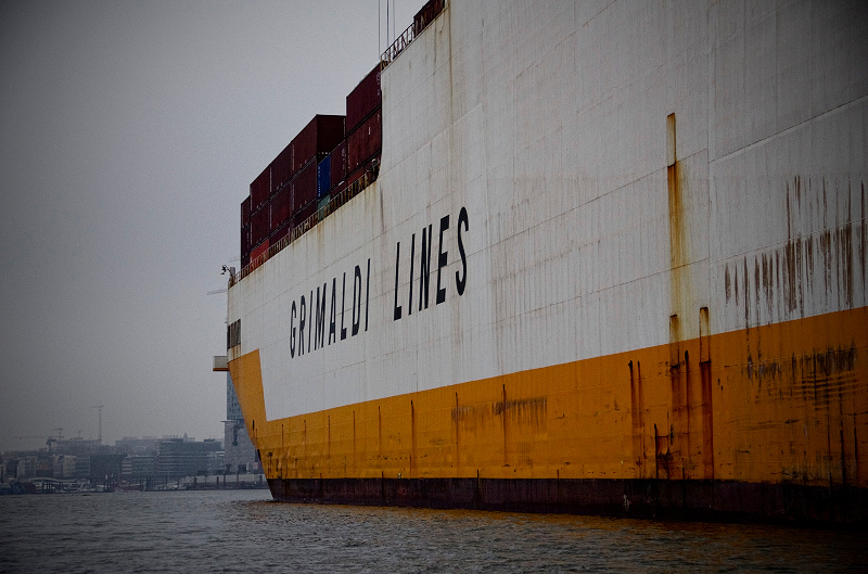 Hafen Hamburg - Grimaldi Lines