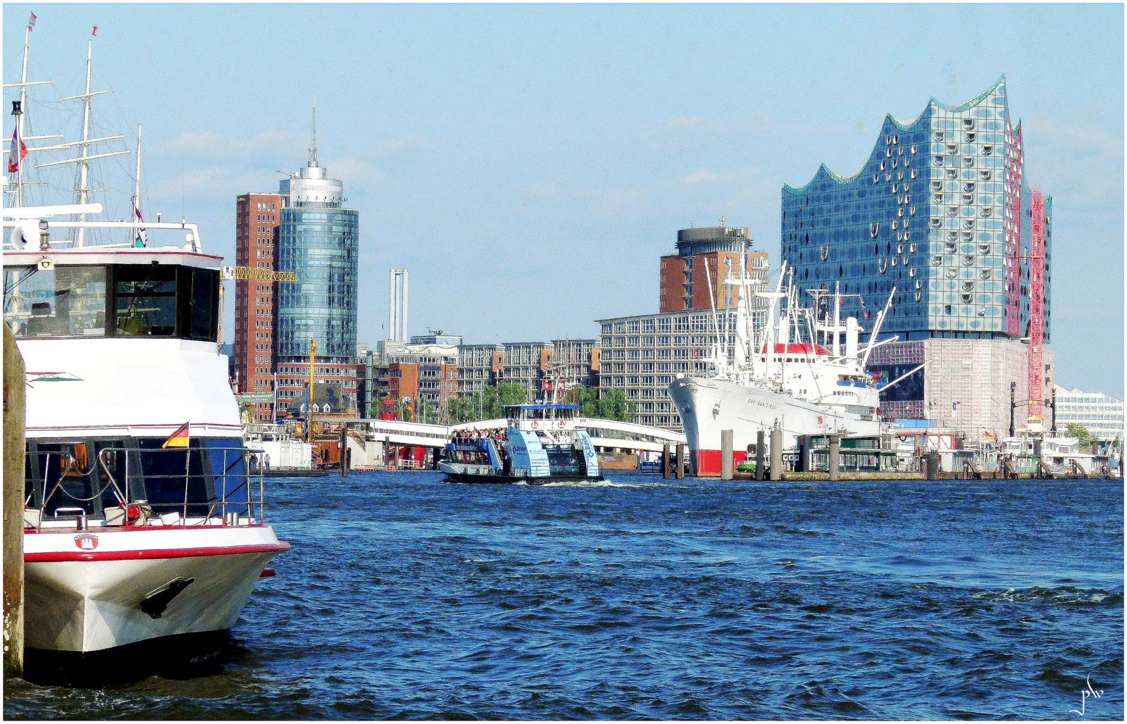 Hafen Hamburg - Kehrwiederspitze