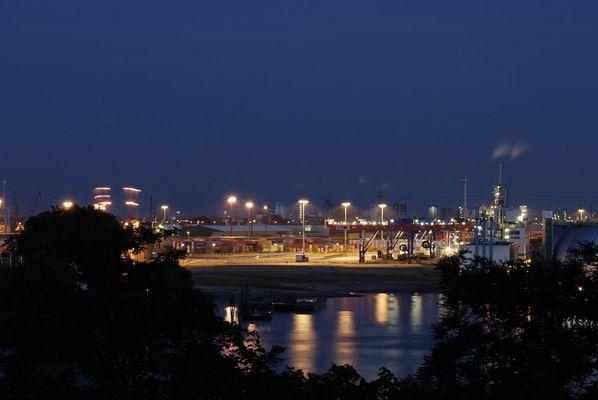 Hafen Hamburg vom Altonaer Balkon III